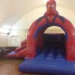 Spiderman Bouncy and Slide