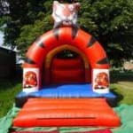 Tiger Bouncy Castle